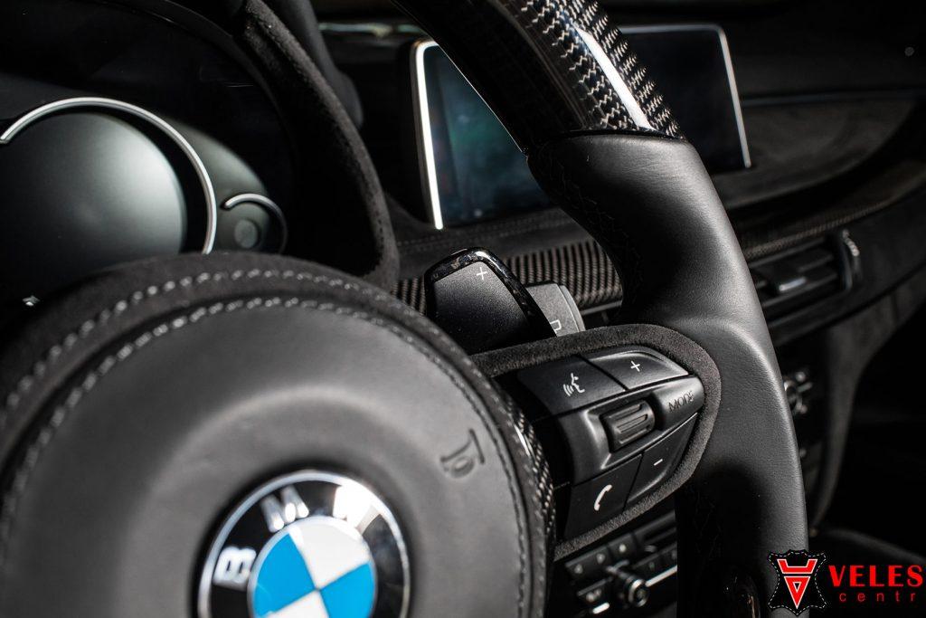 Перешив руля карбон для BMW X5M в Москве
