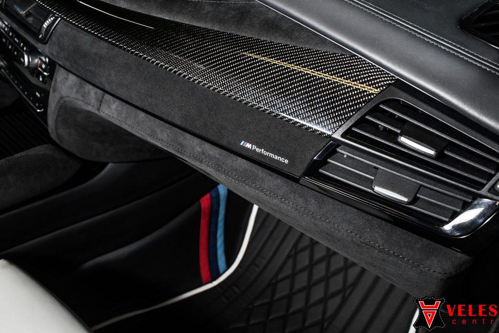 Перешив салона для BMW X5M в Москве