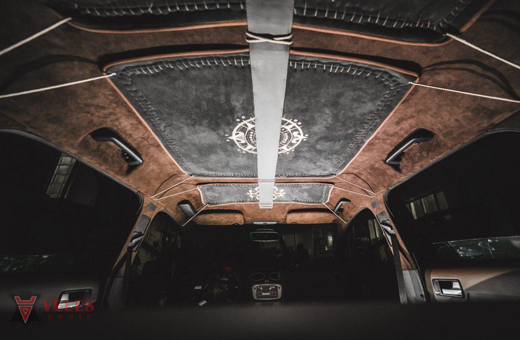 Перешив потолка FORD в Москве