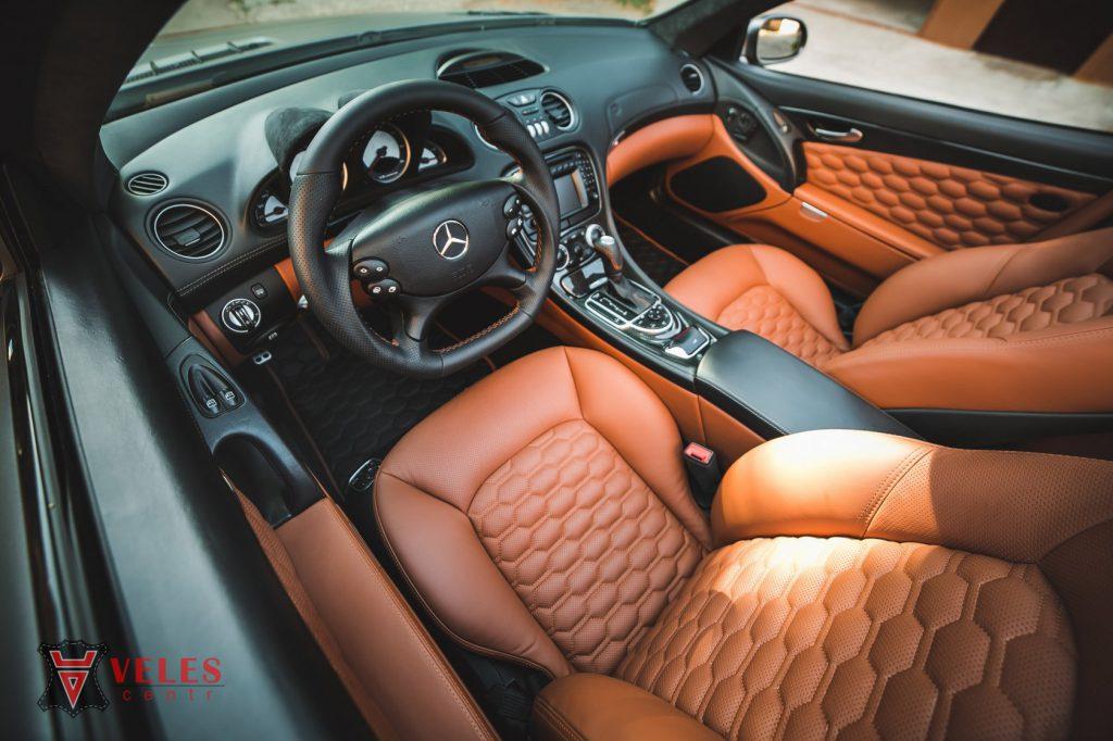 Перешив салона Mercedes SL AMG в Москве