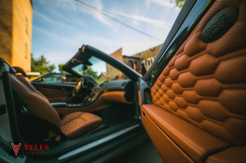 Перешив дверей Mercedes SL AMG в Москве
