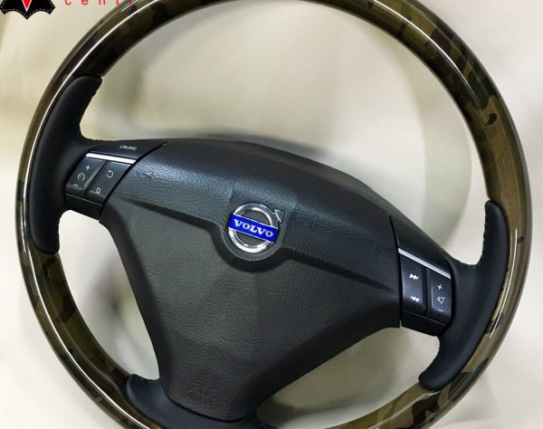 Перешив руля и аквапринт на Volvo в Москве