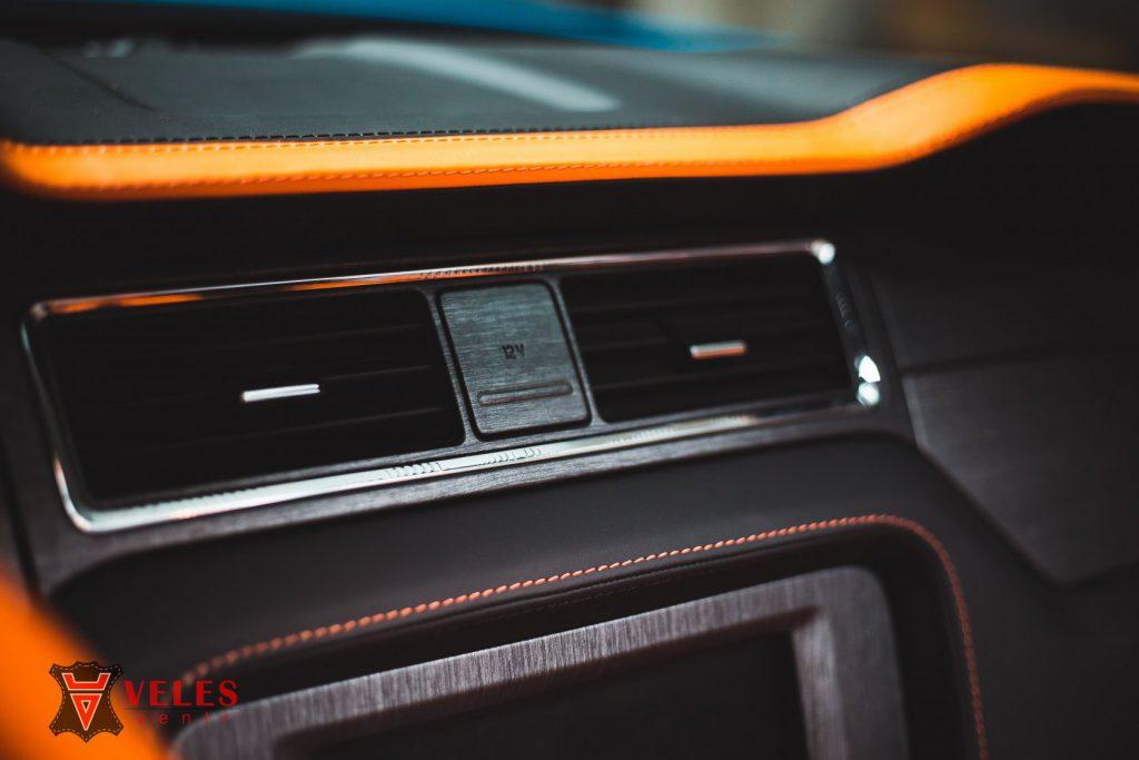 Перешив руля Mustang GT в Москве