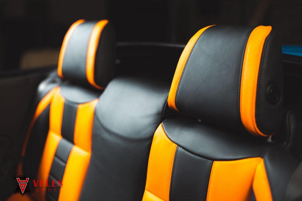 Перешив сидений Muatang GT