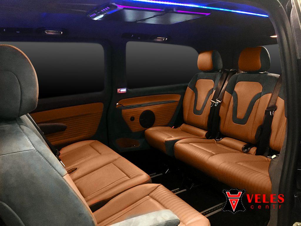 перешив салона Mercedes VITO в Москве