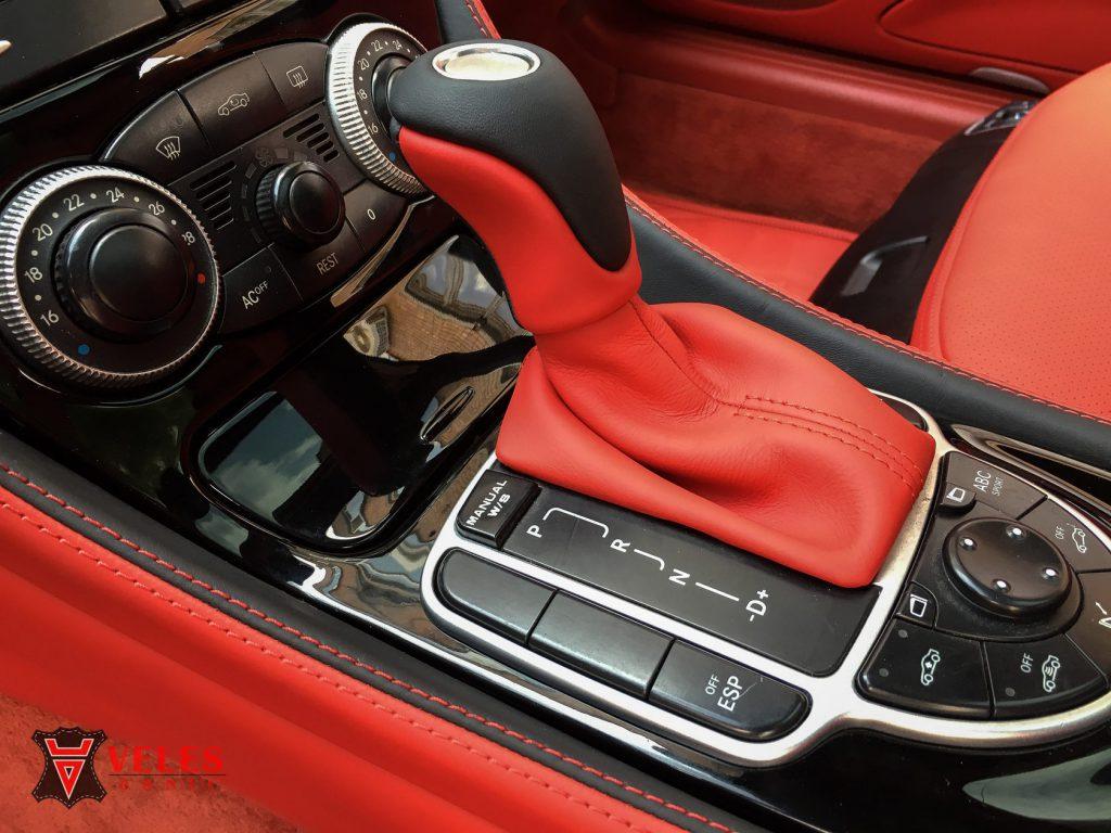 Перетяжка ручки КПП Mercedes AMG в Москве