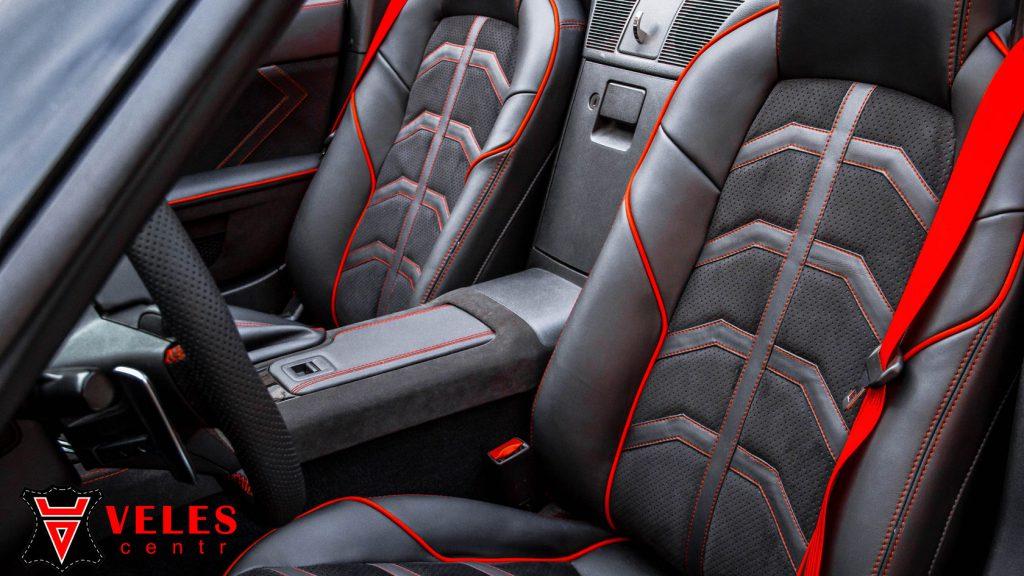 Перешив сидений Mazda в Москве