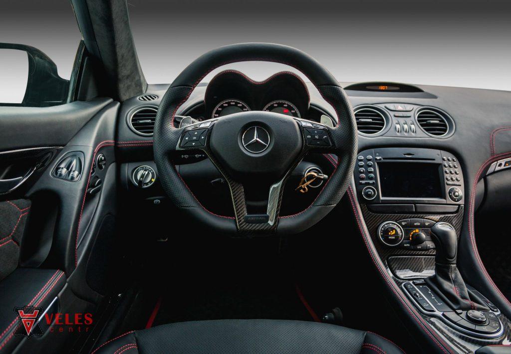 Перешив руля Mercedes SL в Москве
