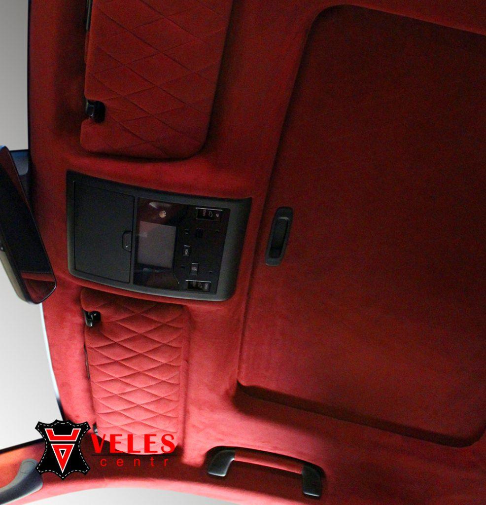 Перетяжка потолка для Lexus 570 в Москве