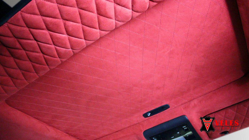 Перетяжка потолка для Lexus 570