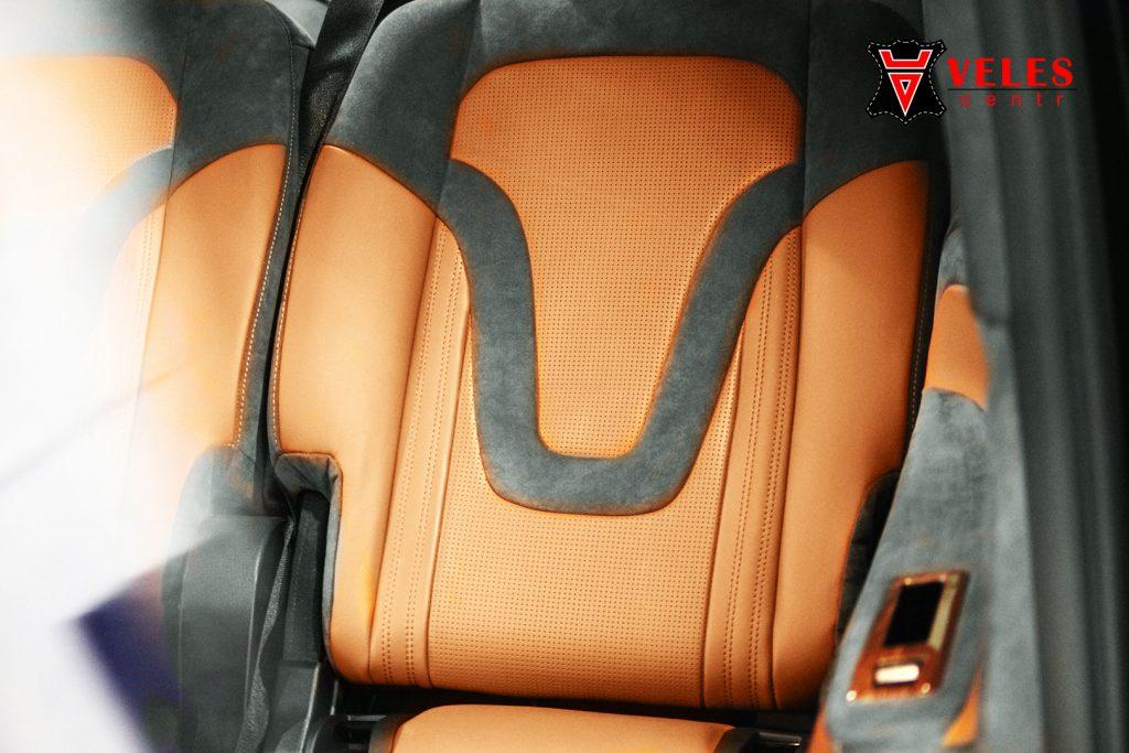 перешив сидений Mercedes VITO в Москве