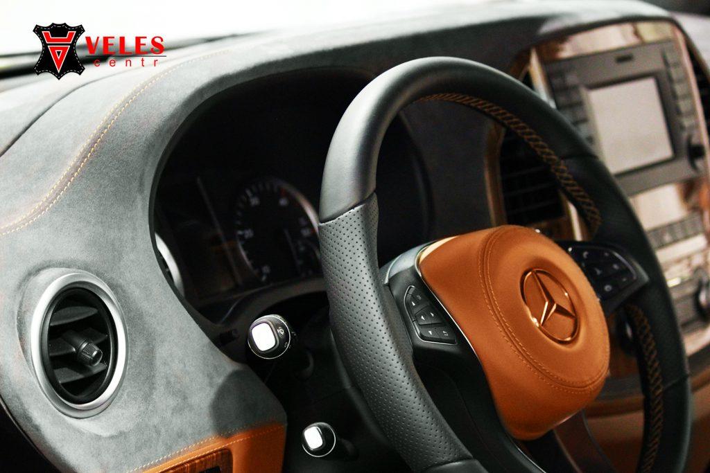 перешив руля Mercedes VITO в Москве