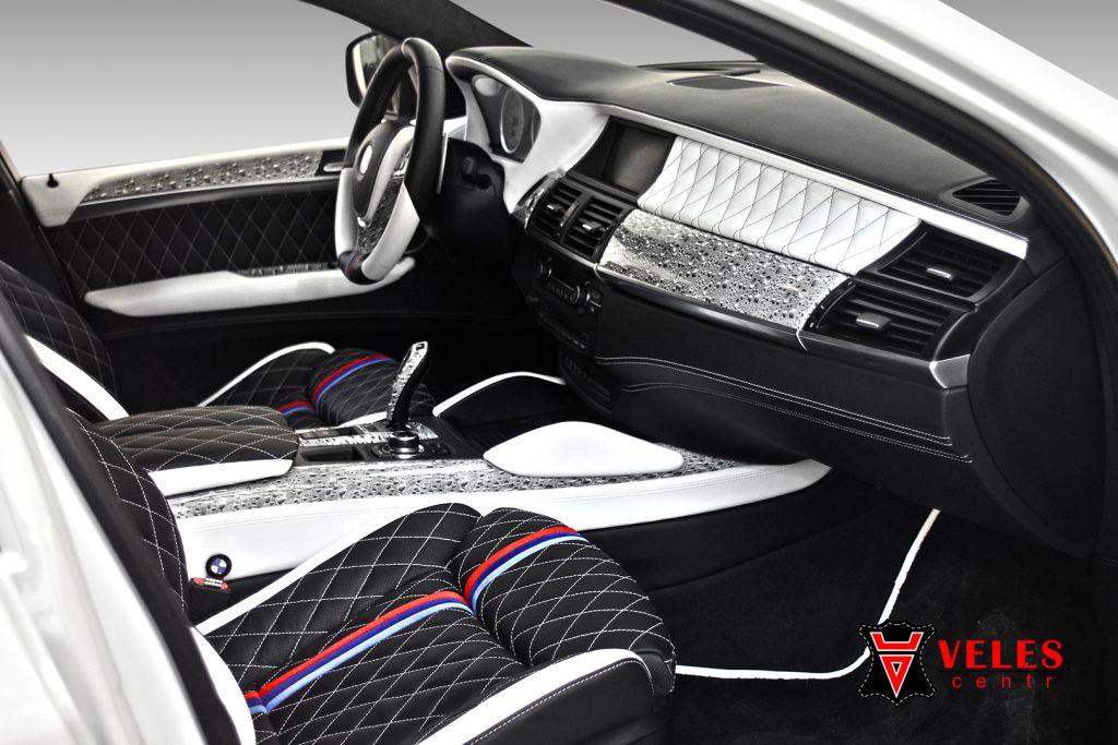 Перешив салона для BMW X6M в Москве