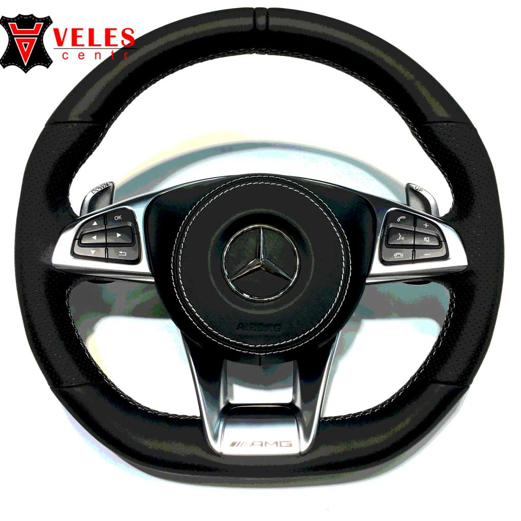 Перетяжка руля для Mercedes в Москве