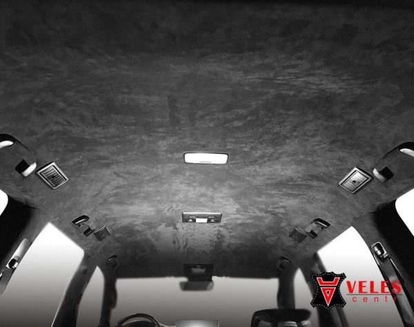 Перетяжка потолка на Lexus 570