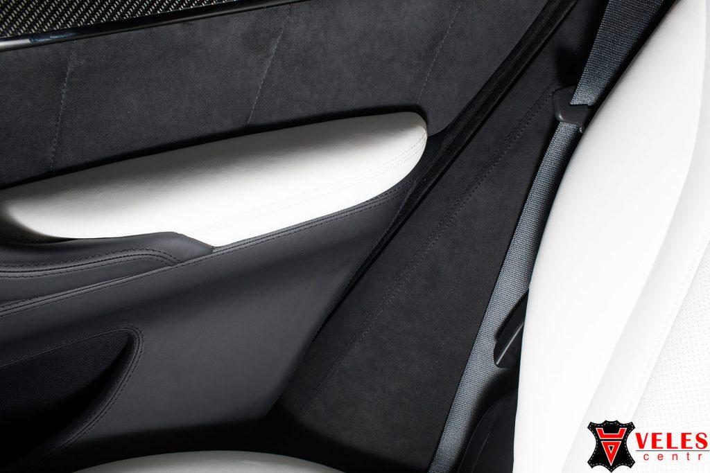 перетяжка пластиковых элементов BMW