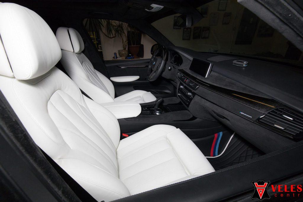 Перешив белоснежного салона BMW