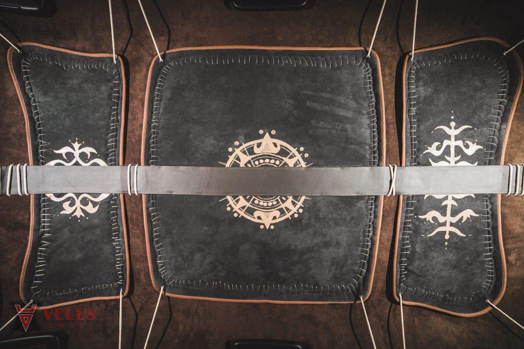 перетяжка потолка в уникальном стиле Пиратский корабль