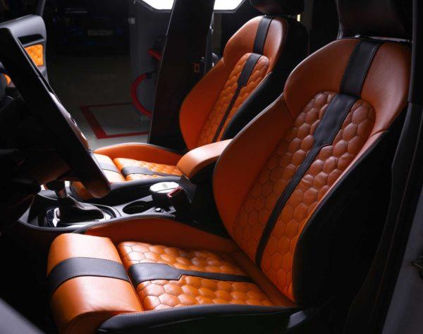 Перетяжка сидений Audi (Ауди) в Москве