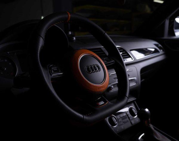 Перешив руля Audi (Ауди) в Москве