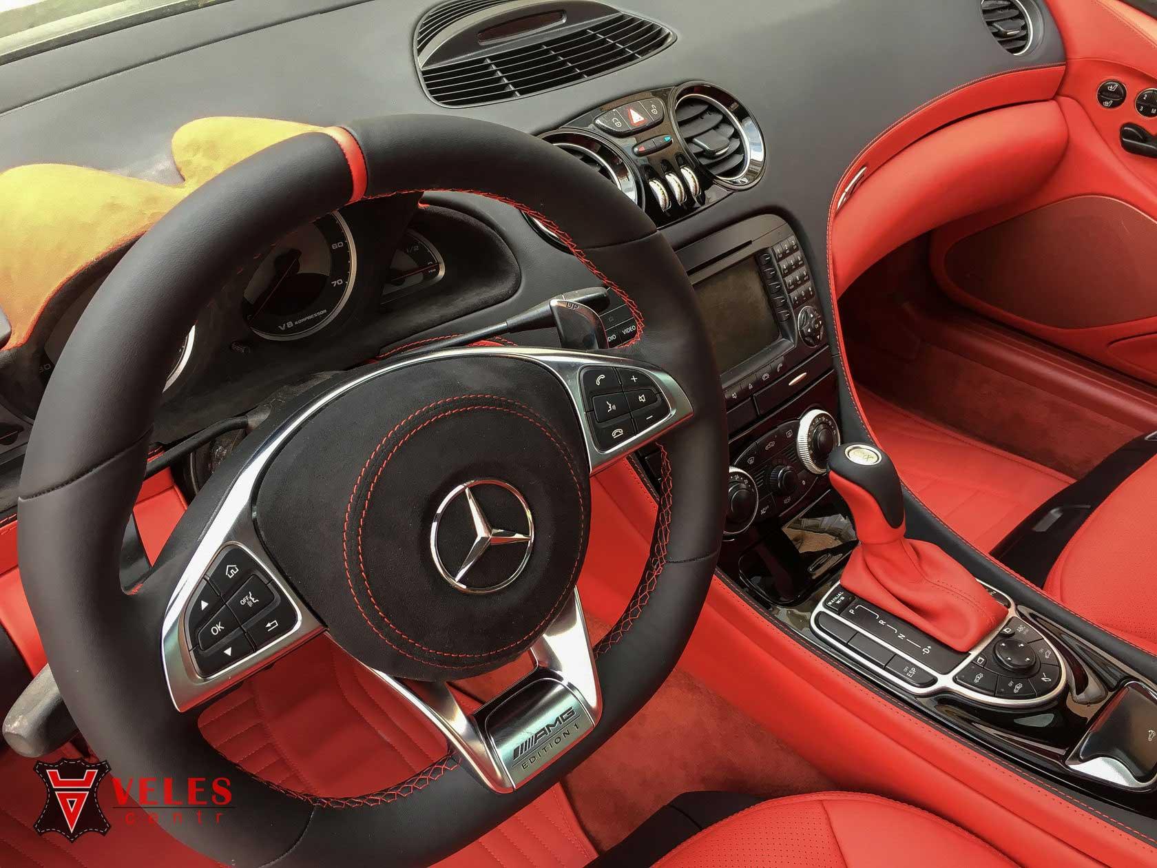 перетяжка руля Mercedes SL