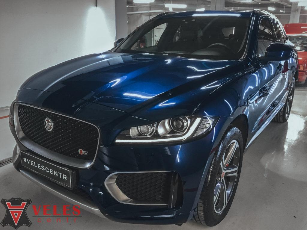 полировка Jaguar