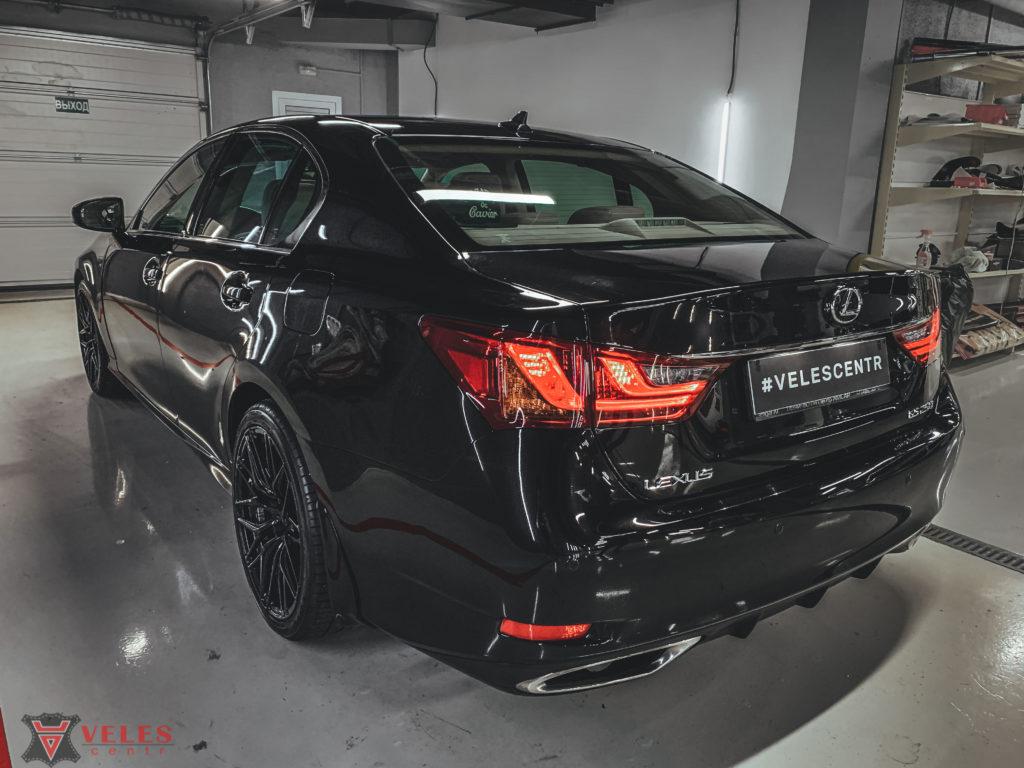полировка кузова автомобиля lexus