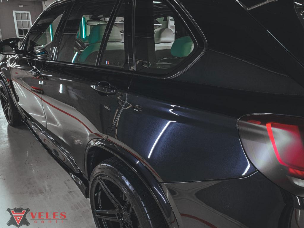полировка  автомобиля жидким стеклом