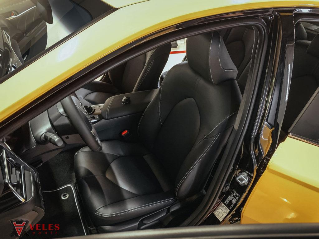 перешить салон авто кожей цены москва