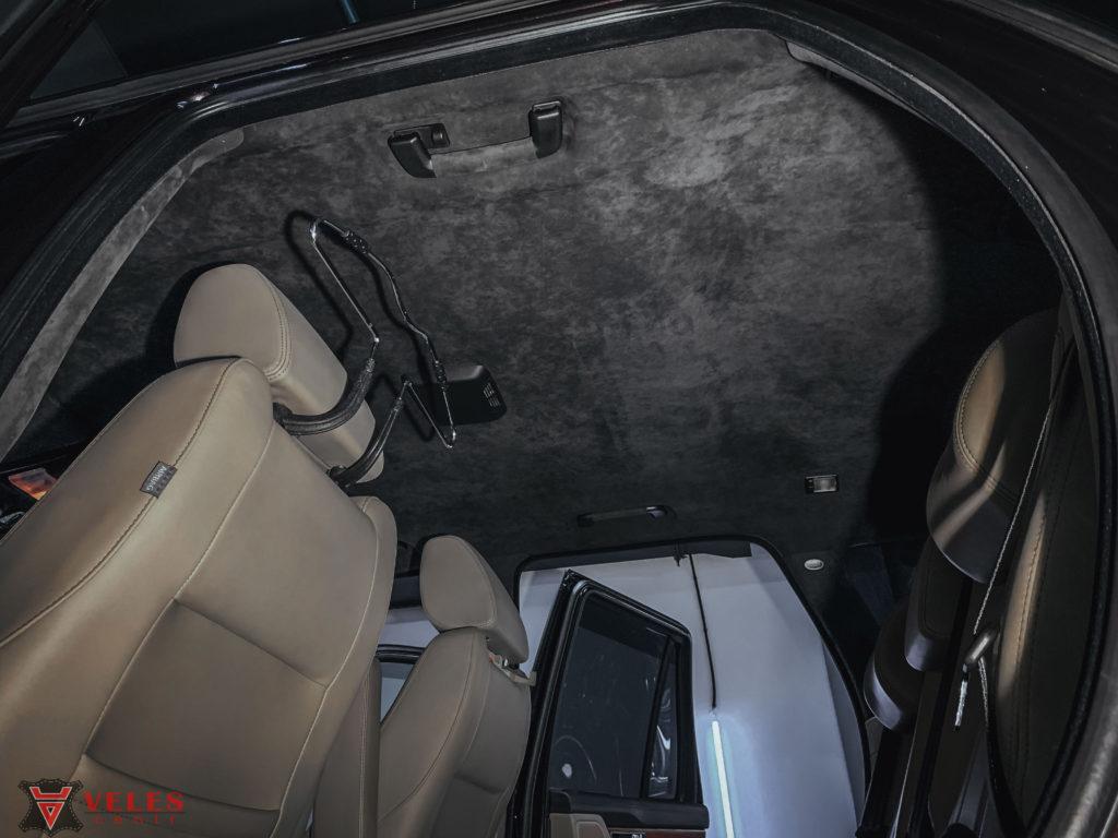 потолок авто перетяжка