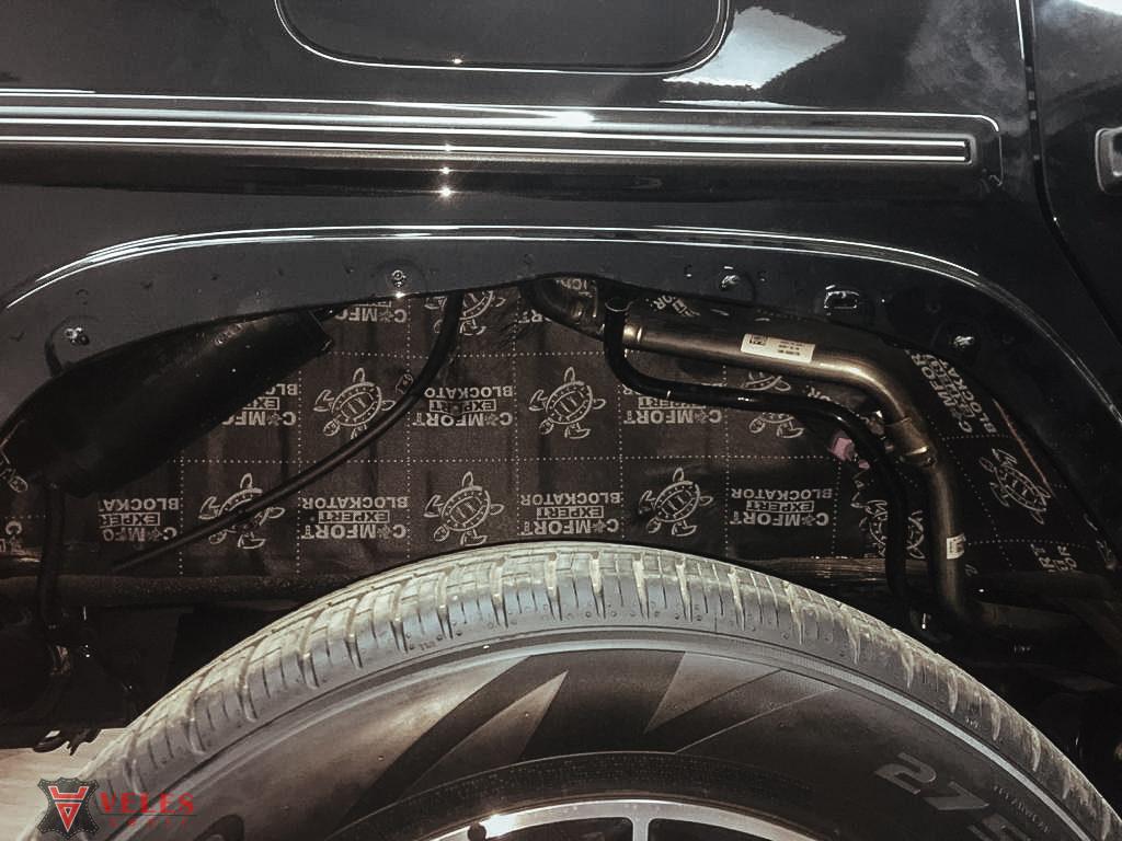 лучшая шумоизоляция арок  автомобиля