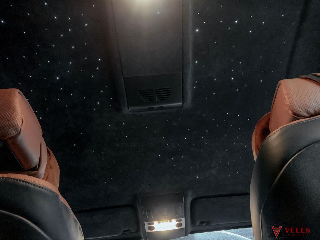 звездное небо в машине