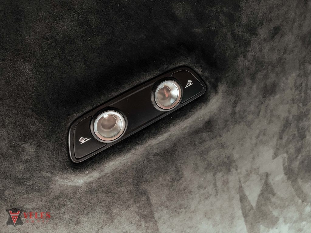 автомобиль перетяжка потолок