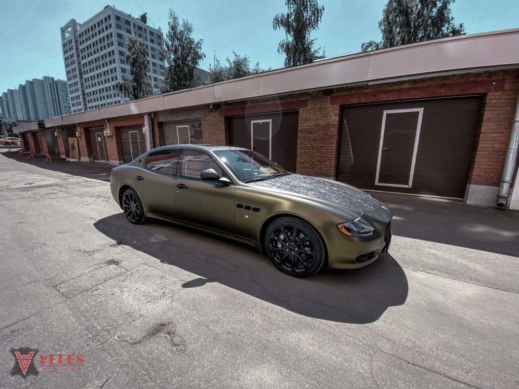 оклейка винилом Maserati
